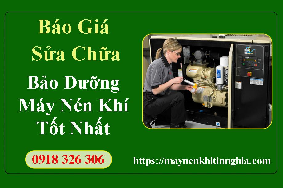 dịch vụ sửa chữa máy nén khí uy tín giá tốt