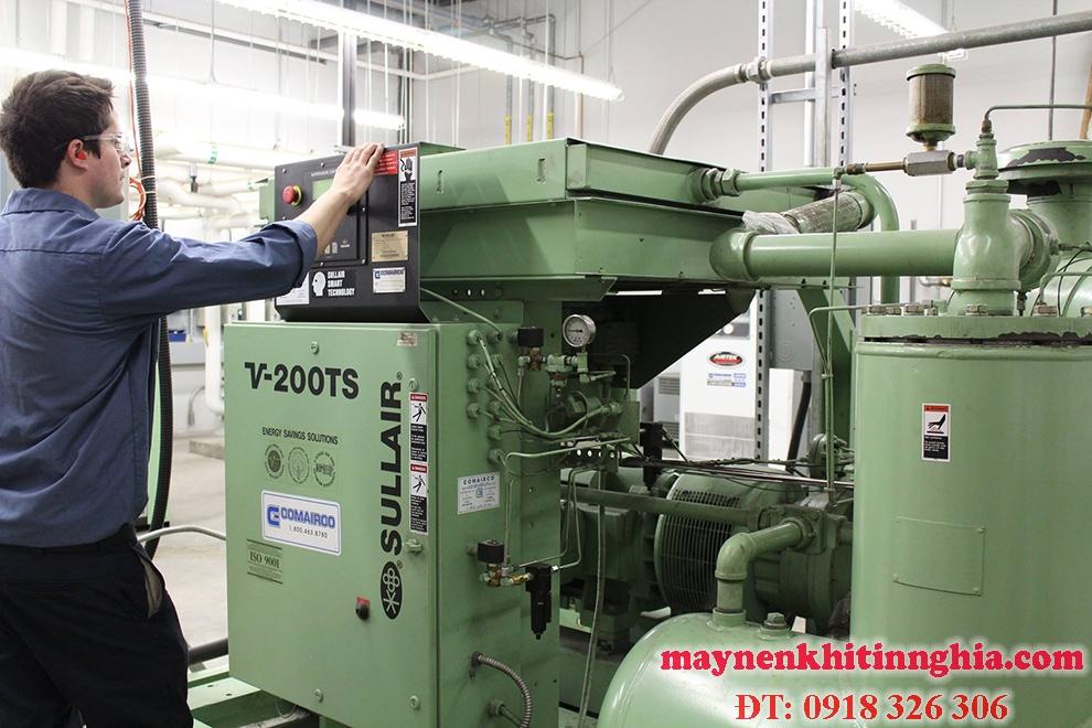sửa chữa máy nén khí công nghiệp