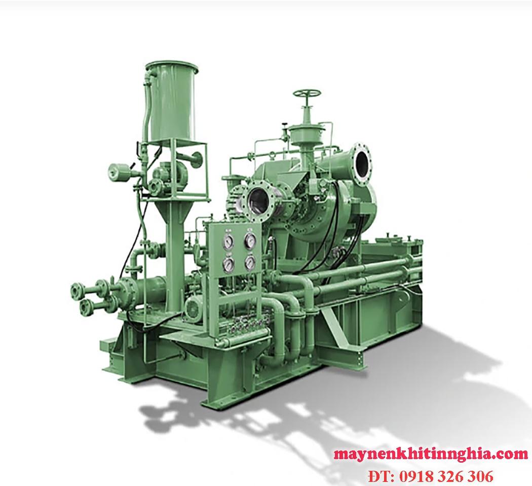 máy nén khí công nghiệp là gì