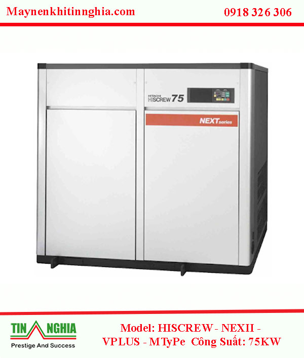 May-nen-khi-hitachi-model-hiscrew-next-II-Series-75kw-co-dau