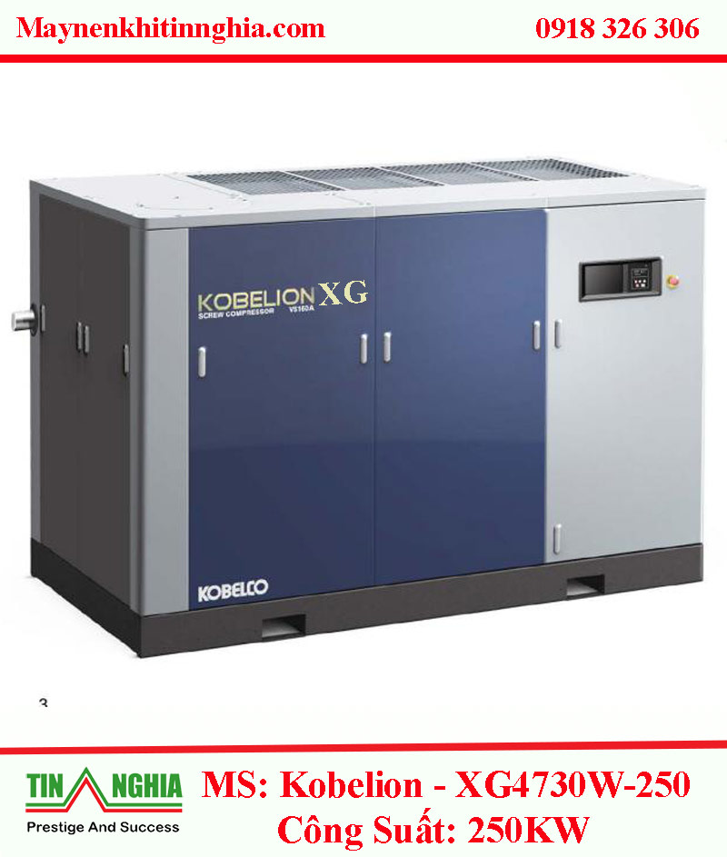 may nen khi kobelco ms kobelion xg4730w 250