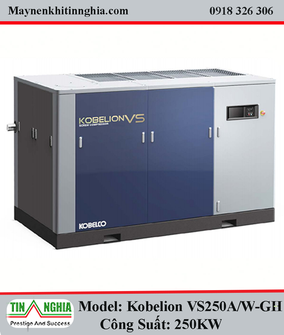 may nen khi kobelco model kobelion vs250A W GH
