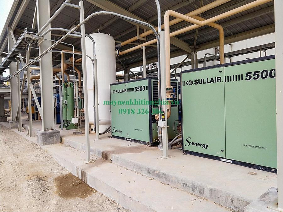 công ty cung cấp máy nén khí trục vít có dầu