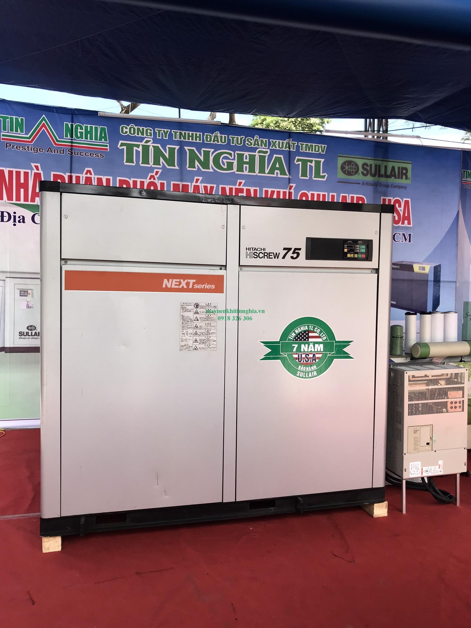 Giá máy nén khí hitachi