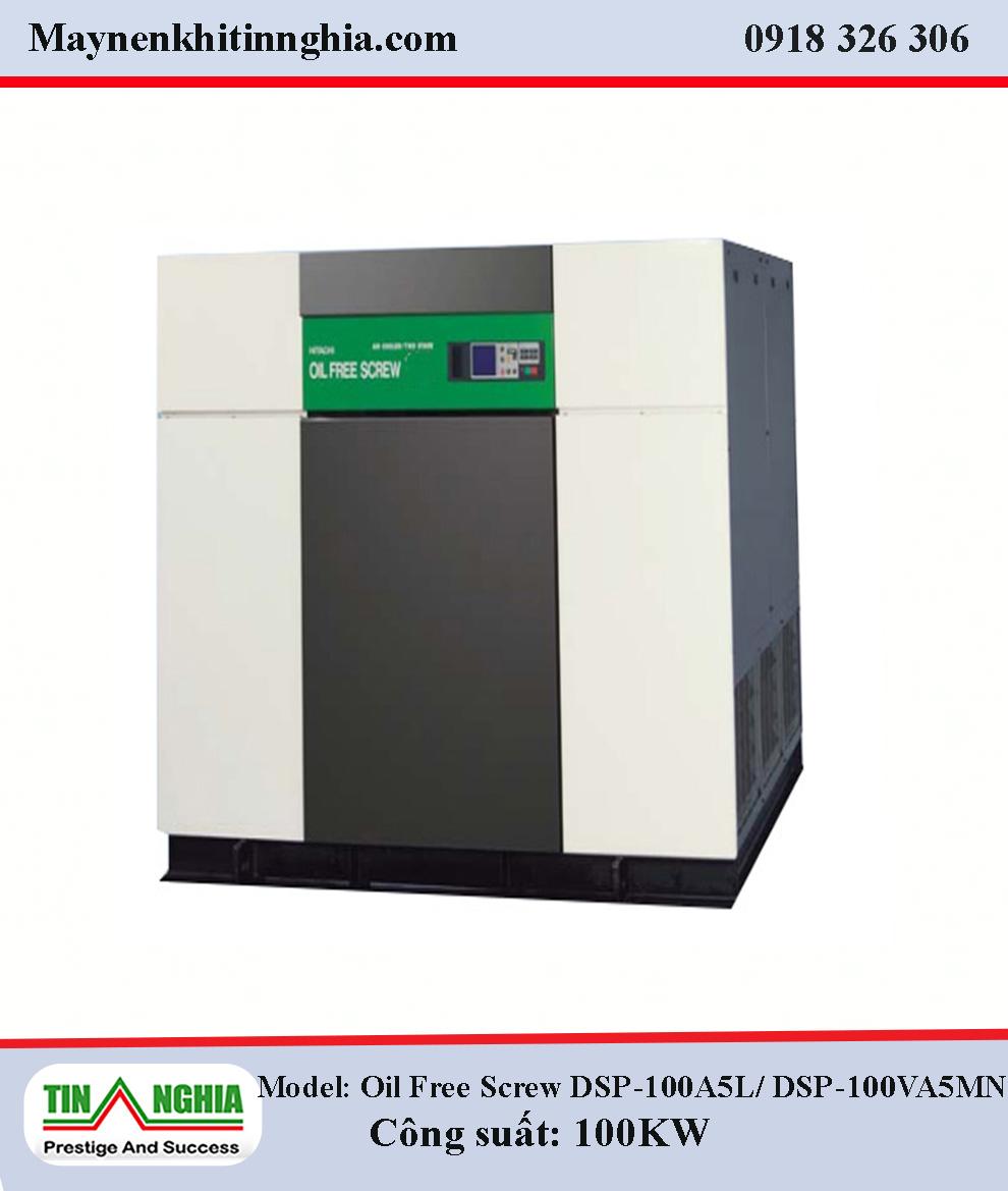 Hitachi-Oil-Free-Screw-DSP-100A5L-DSP-100VA5MN-100KW-truc-vit-khong-dau