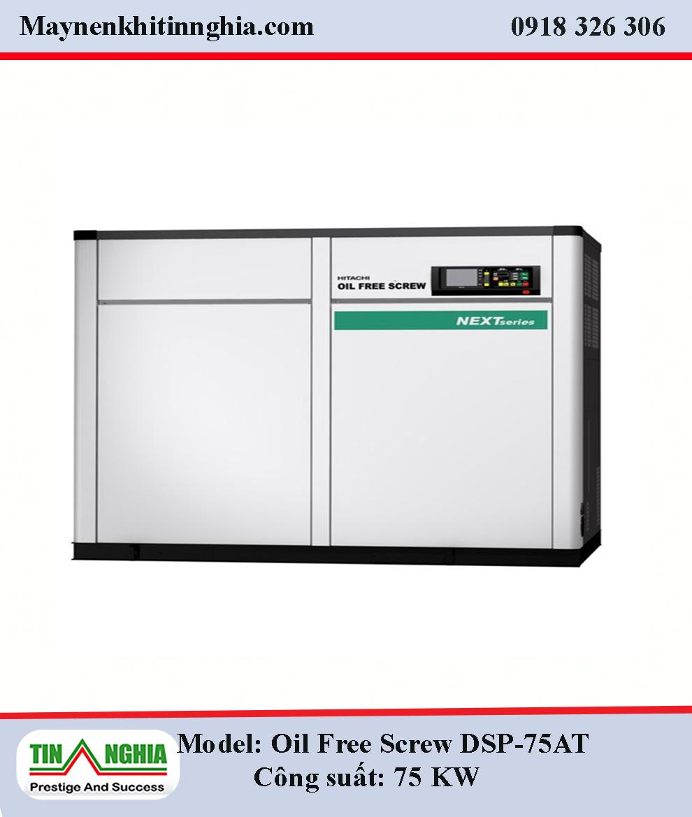 Hitachi-Oil-Free-Screw-DSP-75KW-truc-vit-khong-dau-1