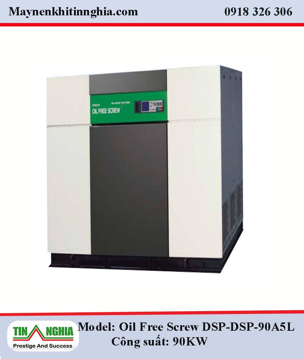 Hitachi-Oil-Free-Screw-DSP-90A5L-90KW-truc-vit-khong-dau