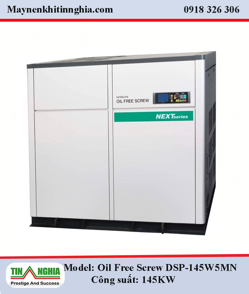 Hitachi-Oil-Free-Screw-DSP-DSP-145W5MN-145kw-truc-vit-khong-dau