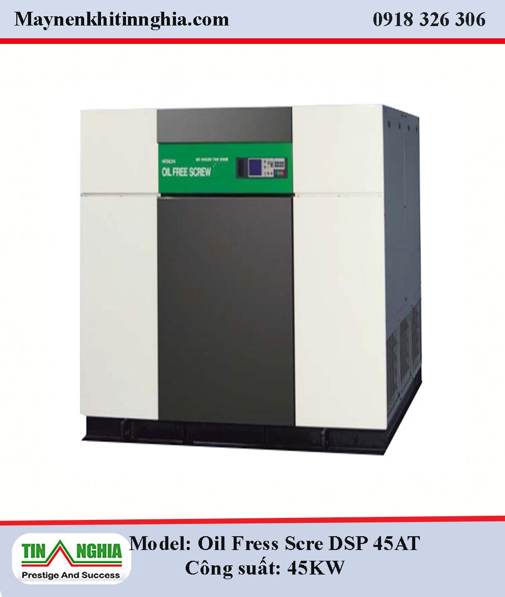 Hitachi-Oil-Free-Screw-DSP45AT-45KW-truc-vit-khong-dau