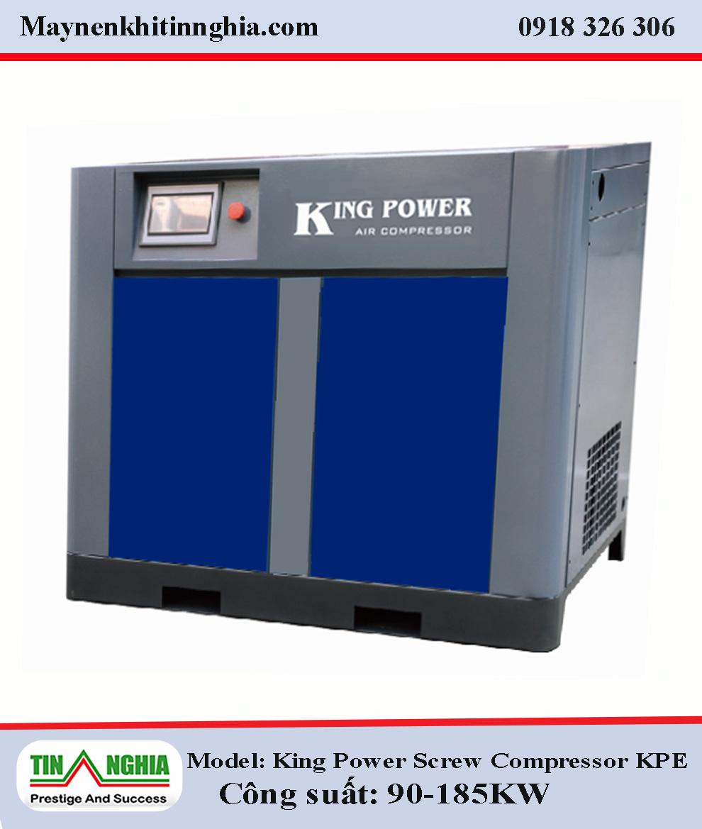 may-nen-khi-king-power--Screw-Compressor-Inverter-KPE90-185KW